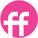 Fiendfeed, Social, round, pink, media DeepPink icon