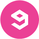 Gag, round, media, Social, pink DeepPink icon