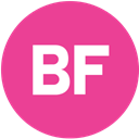 Buzzfeed, Social, media, pink, round DeepPink icon