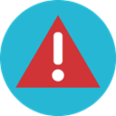 warining, Alert, Error, Attention LightSeaGreen icon