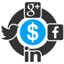 smo, social networks, meeting, twitter, group, Facebook, Linkedin DarkSlateGray icon