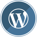 cms, internet, Wp, blog, Blogging, Wordpress, web SteelBlue icon