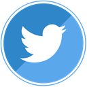 Blue, tweet, Social, twitter CornflowerBlue icon