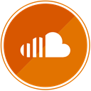 media, music, Soundcloud, Audio, sound, player Chocolate icon
