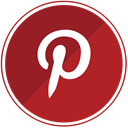 pinterest, Design, pin, pinit, interest Firebrick icon