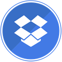 documents, dropbox, storage, share, Cloud, files RoyalBlue icon