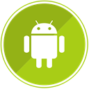 smartphone, Mobile, phone, Android, Device YellowGreen icon