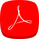 reader, adobe, Acrobat Red icon