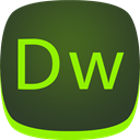 adobe, dreamweaver, dw DarkOliveGreen icon