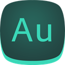 adobe, Au, Audition DarkSlateGray icon