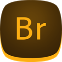 Br, bridge, adobe SaddleBrown icon