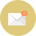 mail, Bubble, Email, envelope BurlyWood icon