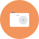 picture, Camera, electronics, Multimedia, photography, image, photo SandyBrown icon