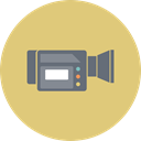 video, film, technology, media, entertainment, Camera, Device BurlyWood icon