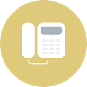 telecommunication, electronics, Business, office, telephone, Analog BurlyWood icon