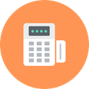 finantix, Money, Finance, Cash, payment, machine, Atm SandyBrown icon