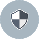 secure, Safe, insurance, security, safety, Protection, shield Silver icon