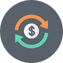 Currency, Dollar, Money, banking, rate, Finance, exchange DimGray icon