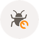 bug, spider, repair, tools, Fix, seo, bug fixing WhiteSmoke icon