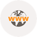 Browser, globe, world, www, Explorer, world wide web WhiteSmoke icon