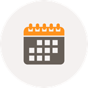 reminder, Schedule, date, Month, Calendar, Appointment, Planner WhiteSmoke icon