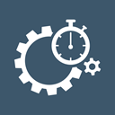 performance, optimization, time, seo, stopwatch, Gear, speed DarkSlateGray icon