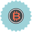Currency, ecommerce, Bitcoin, coin, Finance, Money, Cash LightBlue icon