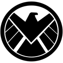 eagle, Avangers, shield, Marvel Black icon