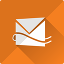web, Email, Live, mail, Communication, Message, Hotmail Chocolate icon