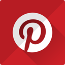 network, Social, media, pinterest, interest, Logo, pin Firebrick icon