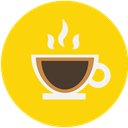 cup, mug, Espresso, Coffee, Cafe, drink Gold icon