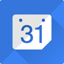 Schedule, event, Calendar, google, Clock RoyalBlue icon