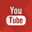 music, video, play, media, player, youtube Firebrick icon