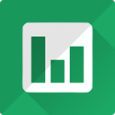 statistics, Diagram, Finance, docs, google, chart, Analysis SeaGreen icon