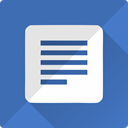 google, Text, paper, docs, documents, Doc, File SteelBlue icon