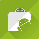Android, store, Shop, Cart, market, shopping, marker YellowGreen icon