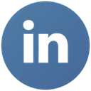 Linked in, Social, Link, Linkedin SteelBlue icon