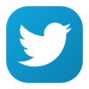 Logo, tweet, twitter, Social LightSeaGreen icon