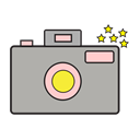 photography, Camera, photos, Cam DarkGray icon