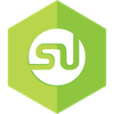 Stumble upon, Social, social media YellowGreen icon