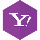 talk, Messenger, Email, Message, yahoo DarkOrchid icon