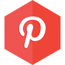 pins, pinterest, social media, sharing, Social Tomato icon
