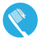 Dentist, tooth, untitled, toothpaste, dental, Toothbrush DodgerBlue icon