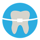 tooth, dental, Decay, untitled, Dentist, Cavity DodgerBlue icon