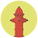 firefighter, Burn, Flame, hydrant, water, fire, fire hydrant Khaki icon