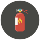 Extinguisher, Fire extinguisher, warning, safety, fire, Protection, Safe DarkSlateGray icon