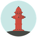 hydrant, Flame, fire fighting, Burn, water, firefighter, fire Gainsboro icon
