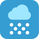 weather, snowing, Snow SteelBlue icon