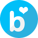 Social, Circle, blog, Blue, Bloglovin DeepSkyBlue icon