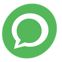 network, Ballon, Social, Message, Chat, Whatsapp, Contact MediumSeaGreen icon